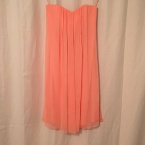 Alice and Olivia Coral Dress Size 2